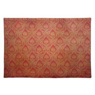 Grungy Damask Placemat
