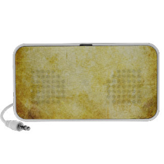 Grungy Doodle Notebook Speaker