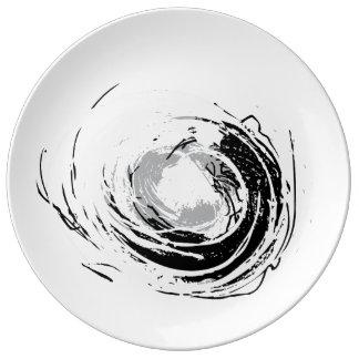 Grungy DOT Plate