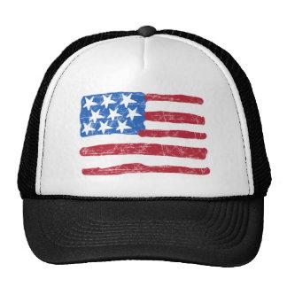 Grungy Flag Trucker Hat