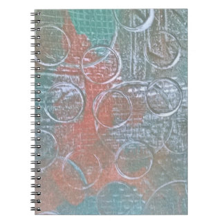 Grungy Flair Spiral Note Books
