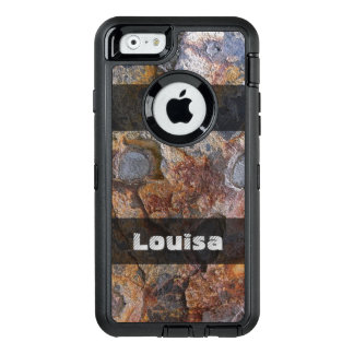 Grungy Geology Rusty Rock Structure any Text OtterBox iPhone 6/6s Case