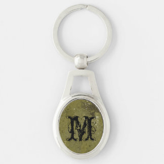 Grungy Green Cement Textured Key Chains