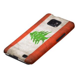 Grungy Lebanon Flag Samsung Galaxy S Cover