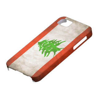 Grungy Lebanon Flag iPhone 5 Covers