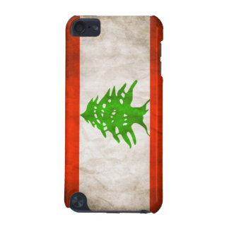Grungy Lebanon Flag iPod Touch (5th Generation) Cases