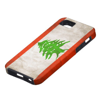 Grungy Lebanon Flag Case For The iPhone 5