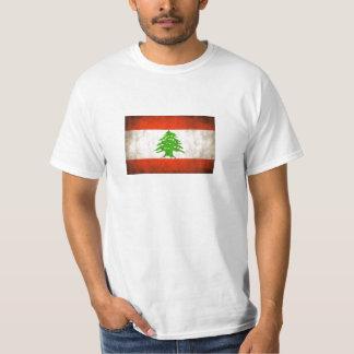 Grungy Lebanon Flag T-shirts