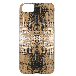 Grungy Look Brown Abstract. iPhone 5C Case