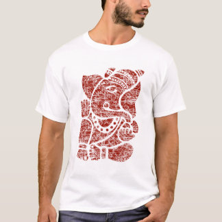 Grungy Lord Ganesha Sign T-Shirt