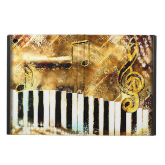 Grungy Music Gold iPad Air Case