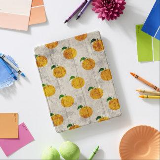 Grungy Orange fruit pattern iPad Smart Cover iPad Cover
