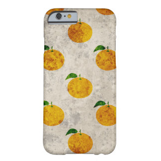 Grungy Orange fruit pattern iPhone case