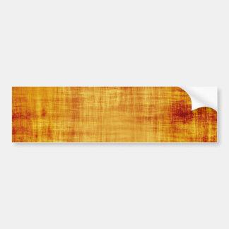 Grungy Parchment Paper Texture Bumper Sticker