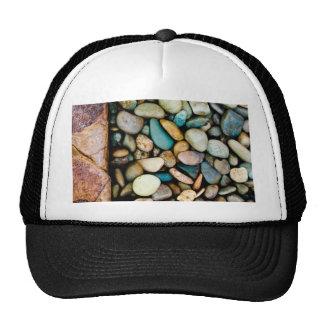 Grungy pebbles hat