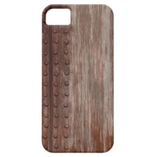 Grungy Riveted Rusty Metal iPhone 5 Cover