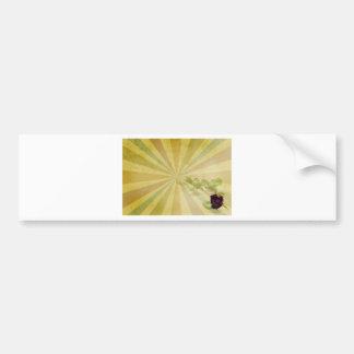 Grungy Rose Bumper Sticker
