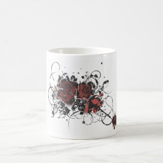 Grungy roses Mug
