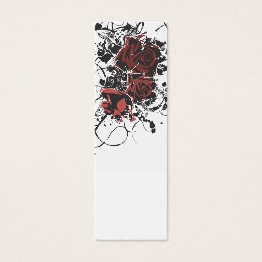 Grungy roses Profile Card