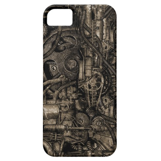 Grungy Steampunk Machinery iPhone 5 Case