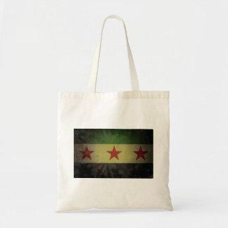 Grungy Syria Flag Budget Tote Bag