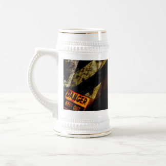 Grungy Tough Textured Beer Steins
