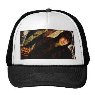 Grungy Tough Textured Hats