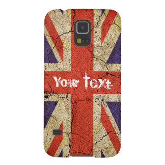 Grungy UK flag (Union Jack) Cases For Galaxy S5