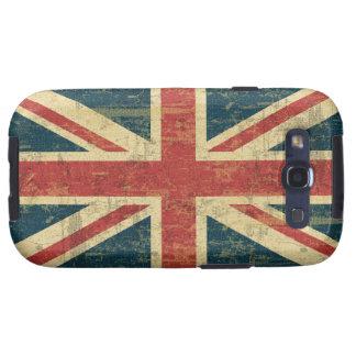 Grungy Union Jack Galaxy S3 Case