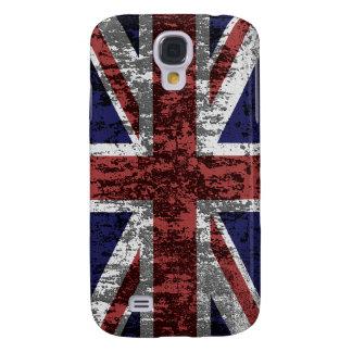 Grungy Union Jack Flag Galaxy S4 Case