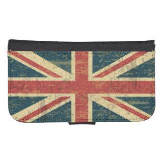 Grungy Union Jack Flag of UK