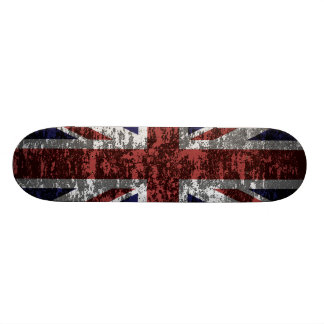 Grungy Union Jack Flag 20 Cm Skateboard Deck