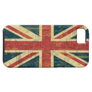Grungy Union Jack iPhone 5 Covers
