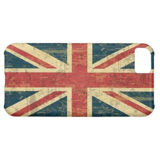 Grungy Union Jack iPhone 5C Case