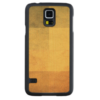 grungy watercolor-like graphic abstract 2 carved maple galaxy s5 case
