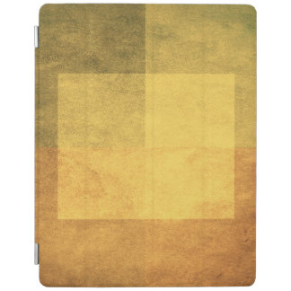 grungy watercolor-like graphic abstract 2 iPad cover