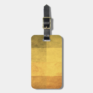 grungy watercolor-like graphic abstract 2 luggage tag