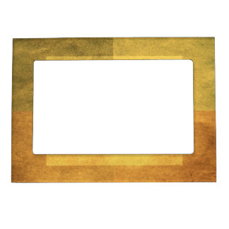 grungy watercolor-like graphic abstract 2 magnetic picture frame