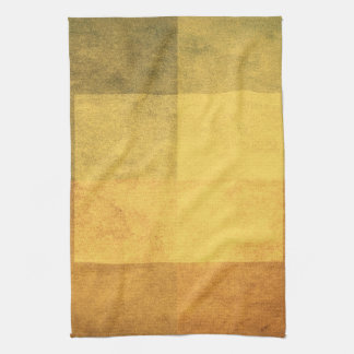 grungy watercolor-like graphic abstract 2 tea towel