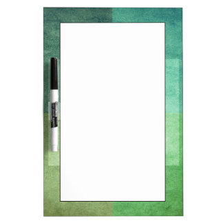 grungy watercolor-like graphic abstract 3 dry erase board