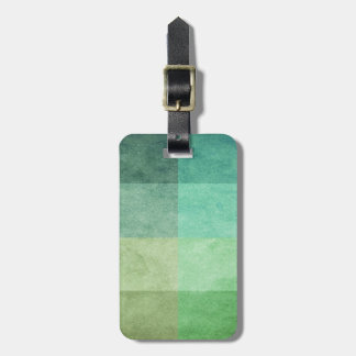 grungy watercolor-like graphic abstract 3 luggage tag