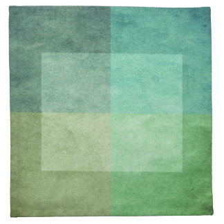 grungy watercolor-like graphic abstract 3 napkin