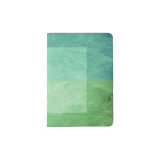 grungy watercolor-like graphic abstract 3 passport holder
