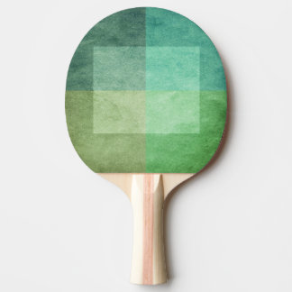 grungy watercolor-like graphic abstract 3 ping pong paddle