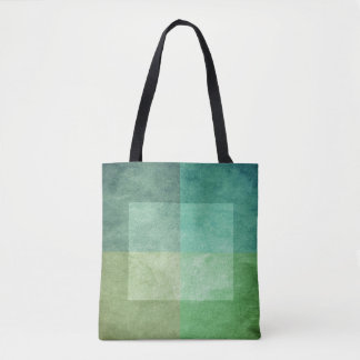 grungy watercolor-like graphic abstract 3 tote bag
