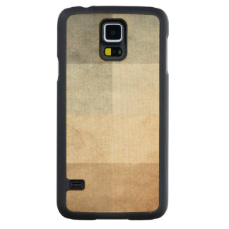 grungy watercolor-like graphic abstract carved maple galaxy s5 case