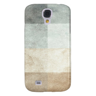 grungy watercolor-like graphic abstract galaxy s4 case