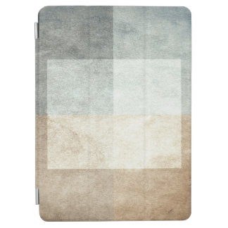 grungy watercolor-like graphic abstract iPad air cover