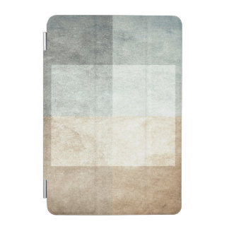 grungy watercolor-like graphic abstract iPad mini cover