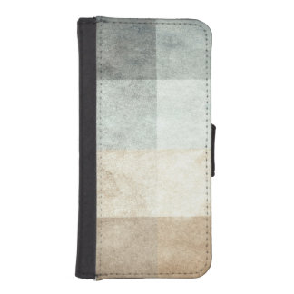 grungy watercolor-like graphic abstract iPhone SE/5/5s wallet case